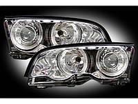 Фары передние на Ауди - Audi A6, A8, A4 100, Q7 противотуманные, галоген/линзованн, фото 1