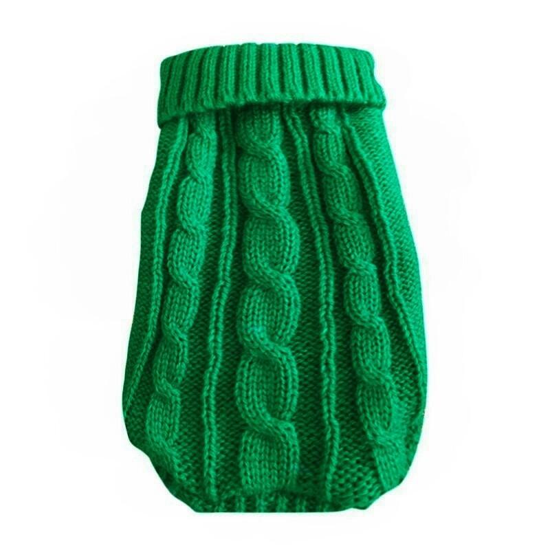 Свитер для кошек «Премиум», зеленый