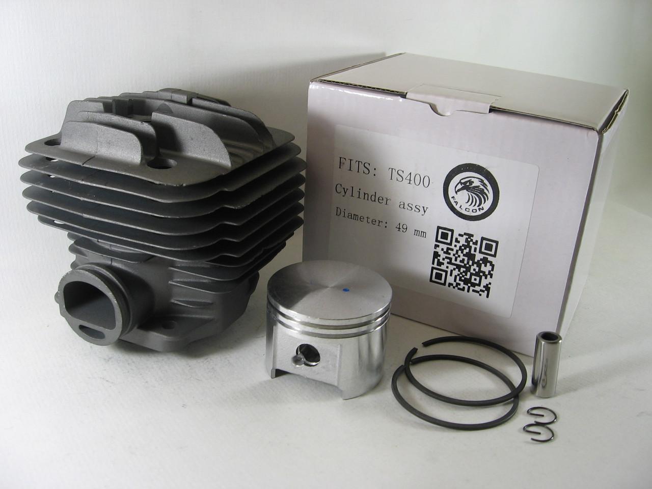 Цилиндр с поршнем Stihl TS 400 (42230302000, 4223 020 1200) для бензореза Штиль, серия PRO