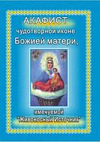 Акафист чудотворной иконе Божией Матери, именуемой «Живоносный Источник»