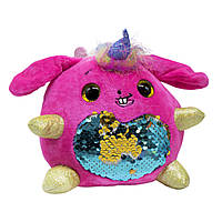 Мягкая игрушка Rainbocorns Sparkle heart (малиновая)