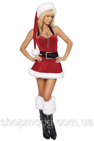 Новогоднее платье снегурочки, фото 2