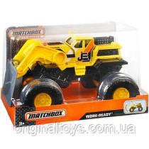Машинка Бульдозер Matchbox Work-Ready 1:24 Mattel, 18 см