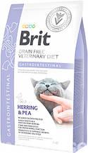 Brit VD Gastrointestinal Cat для кошек с желудочно-кишечными расстройствами 2кг