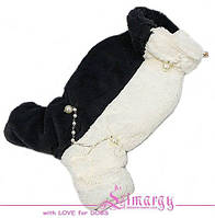 Шубка для собаки. Комбинезон-шуба зимняя.
