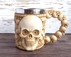 Кружка подарочная с черепами №3