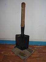 Лопата саперная 1970-89 г. с чехлом.