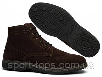 Ботинки мужские броги Grisport 42009A130 коричневые