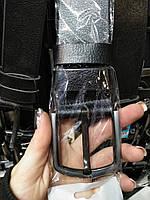 Кожаный ремень 4,5см + подарок, кожаные ремни унисекс, качественные ремни кожа, мужской ремень, ремни класика