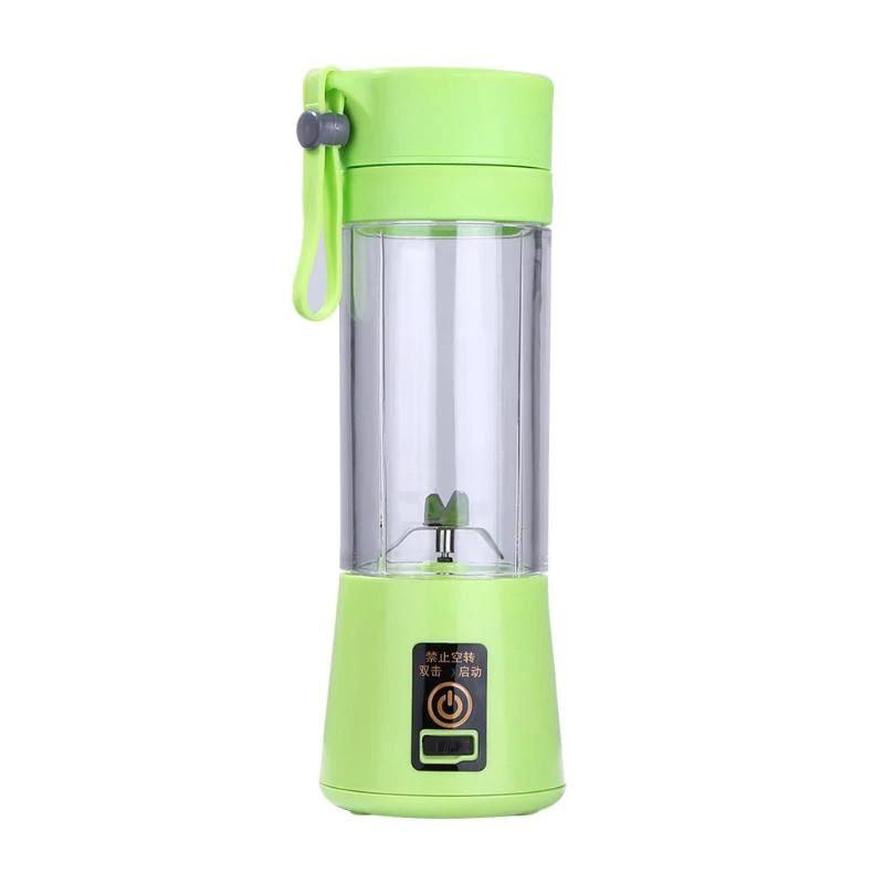 Фитнес блендер Smart Juise Cup Fruits на аккумуляторе, зеленый