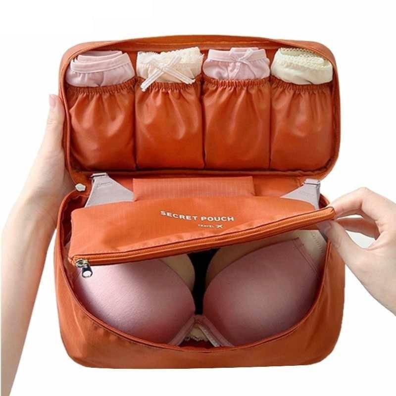 Сумка-органайзер для белья и косметики 2в1 Органайзер в дорогу Qianyecao Travel
