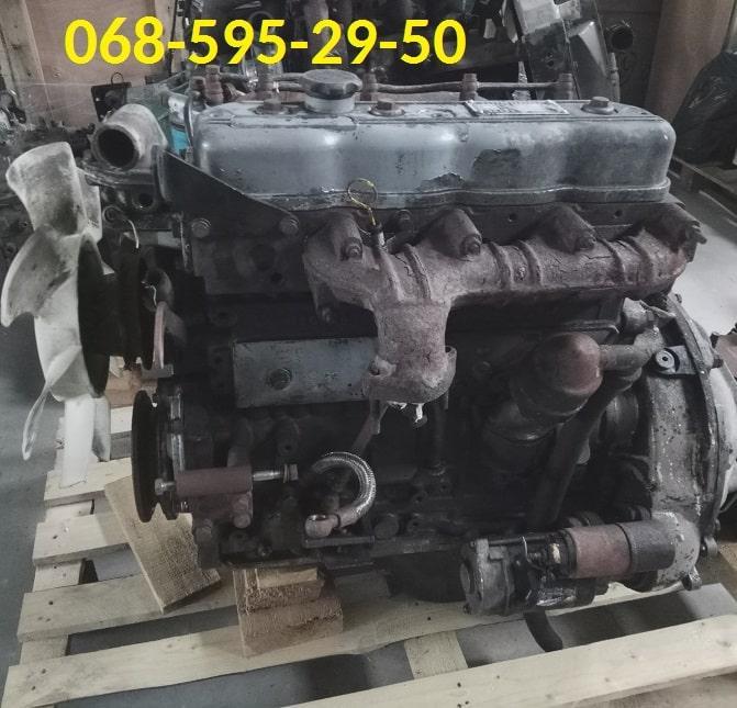 Двигатель в сборе FOTON 1043, ФОТОН 1043 (3.7) Б/У.