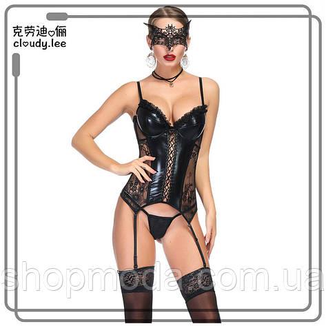 Сексуальный корсет. Латексный корсет., фото 2