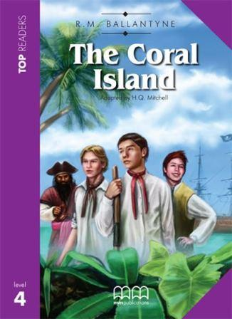 Top Readers 4 The Coral Island with CD