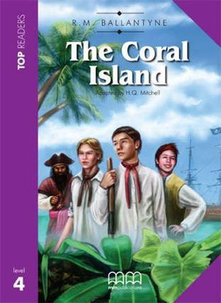 Top Readers 4 The Coral Island with CD, фото 2