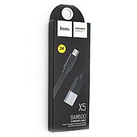 Кабель USB Hoco X5 Bamboo / micro-USB