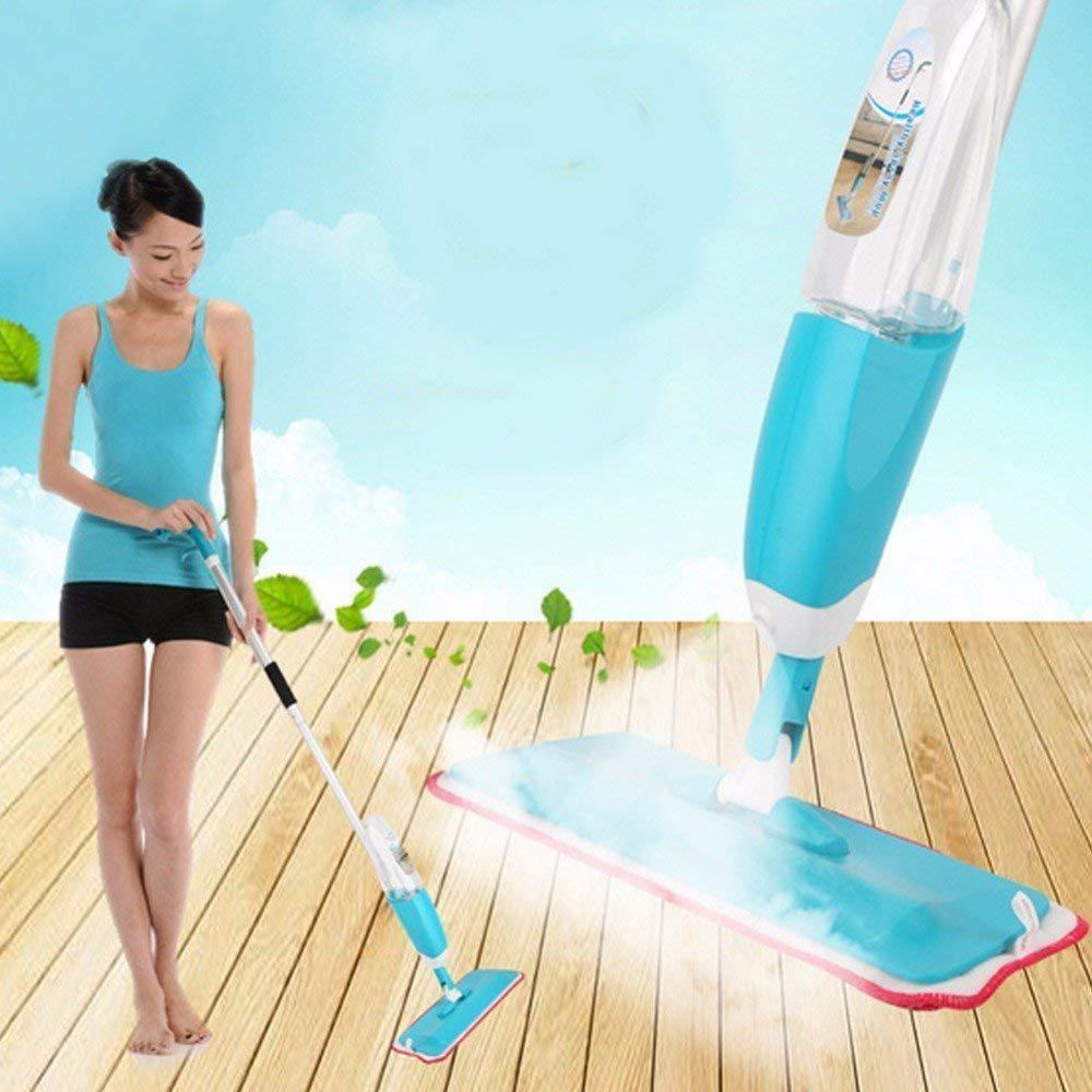Швабра с распылителем Healthy Spray Mop, Швабра со встроенным распылителем