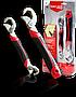 Универсальный гаечный разводной ключ Snap N Grip набор из 2 штук, накидной ключ, ключ жабка, разводной ключ, фото 5