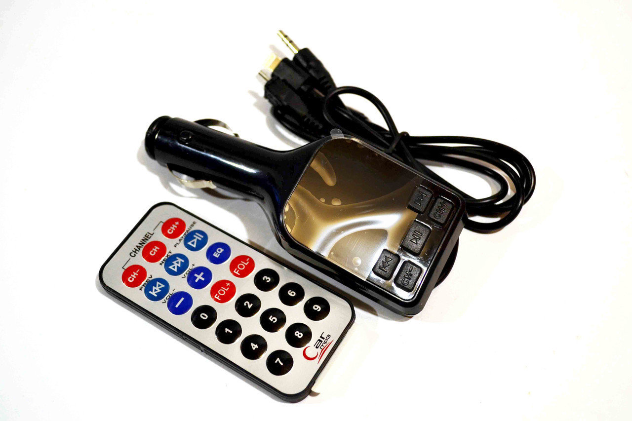 FM- модулятор A4 (AUX+micro+iP5), фм модулятор, фм трансмиттер, модулятор fm, fm трансмиттер
