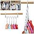 Вешалка-органайзер для одежды Wonder Hanger ( Чудо-вешалка ), цвет белый, фото 2