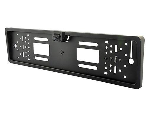 Камера заднего вида в рамке номерного знака Interpower IP-616 4 LED лампочки цвет черный