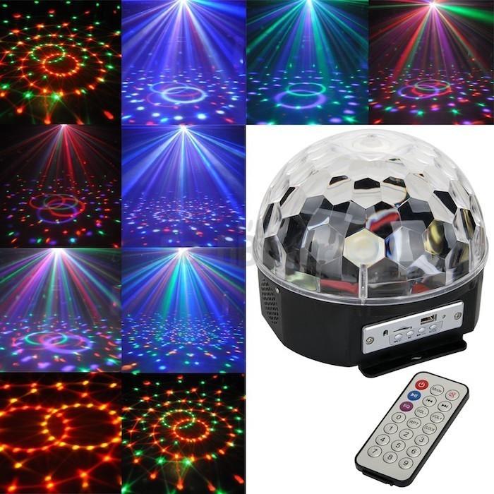 Диско шар MP3 светодиодный LED MAGIC BALL, светодиодный шар с Bluetooth