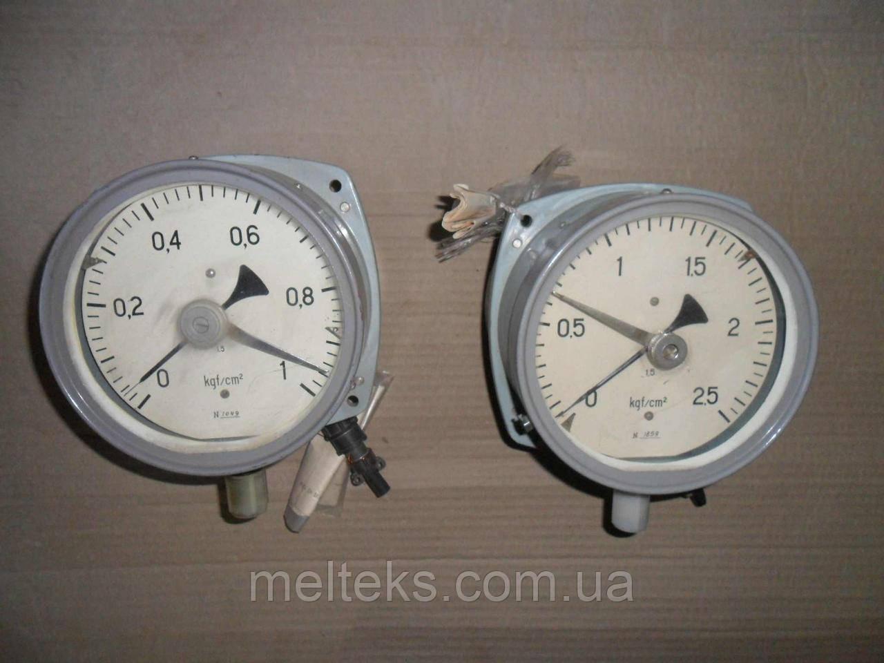 Манометры электроконтактные МП4 III для газодувок
