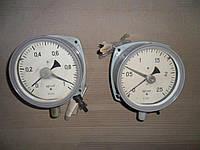 Манометры электроконтактные МП4 III для газодувок, фото 1