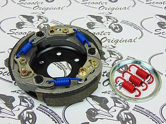 Сцепление KOSO Ø107мм облегченное, регулируемое Minarelli Yamaha 3KJ 2JA Honda Piaggio Peugeot Kymco GY6 50cc