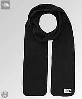 Мужской черный зимний шарф из микрофлиса, чоловічий шарф, бафф The North Face, Реплика