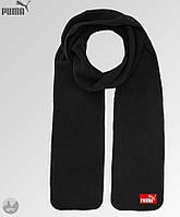 Мужской зимний шарф из микрофлиса, чоловічий шарф, бафф Puma, Реплика