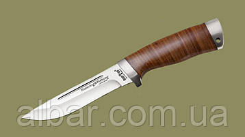 Нож охотничий  2290 LP (рукоять-метал,наборная кожа)