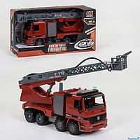 Пожарная Машина 9998-45 (12/2) инерция, брызгает водой, в коробке
