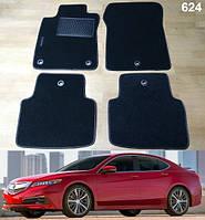 Ворсовые коврики на Acura TLX '14-20