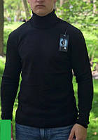 Гольф (водолазка) мужской, черный
