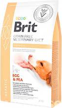 Brit VD Hepatic Dog для собак с нарушенной функцией печени и хронической печеночной недостаточностью 12 кг