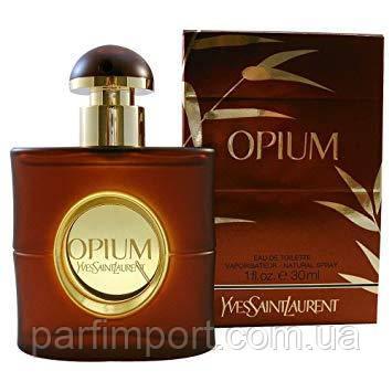 "YVES SAINT LAURENT ""Opium"" EDT 30 ml  (оригинал подлинник  )"
