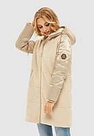 Куртка зимняя MILA NOVA К-108 50 Молочный (MN-К-108/1-50)