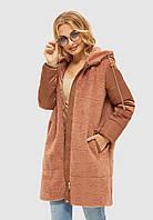 Куртка зимняя MILA NOVA К-108 48 Капучино (MN-К-108/2-48)