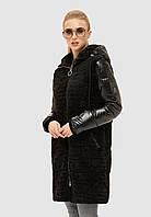 Куртка зимняя MILA NOVA К-108 44 Черный (MN-К-108/5-44)