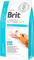 Brit VD Obesity Dog для снижения избыточного веса и поддержания нормальной массы тела у взрослых собак 12кг