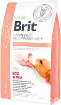 Brit VD Renal Dog для собак с нарушенной функцией почек и хронической почечной недостаточностью 2кг