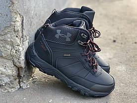 Зимние ботинки (НА МЕХУ) мужские Under Armour Storm (реплика) 16-097 ⏩ [44,44 ]