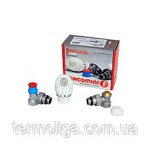 Комплект Giacomini R470FX003 прямой 1/2 для подключения радиаторов