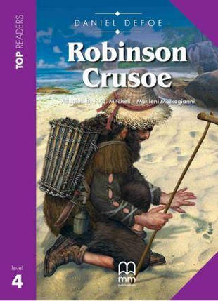 Top Readers 4 Robinson Crusoe with CD, фото 2