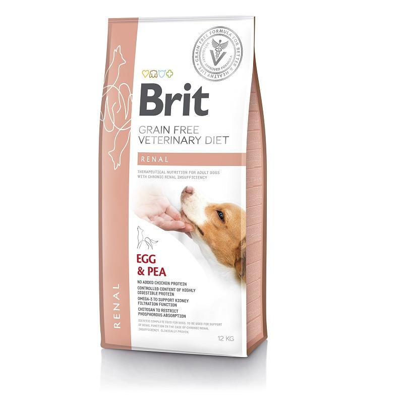 Brit Veterinary Diet Dog Grain free Renal 2кг - беззерновая диета при почечной недостаточности