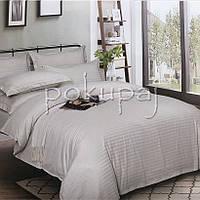 Комплект постельного белья Krispol страйп сатин люкс семейный 544201 с