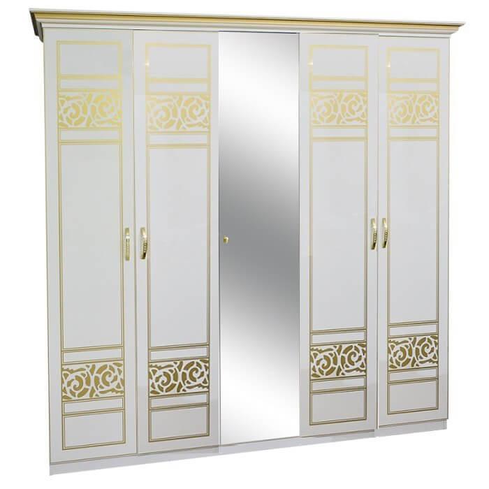 Шкаф 5Д Полина Нова 1 зеркало Світ Меблів