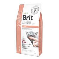 Brit Veterinary Diet Cat Grain free Renal 2кг - беззерновая диета при почечной недостаточности