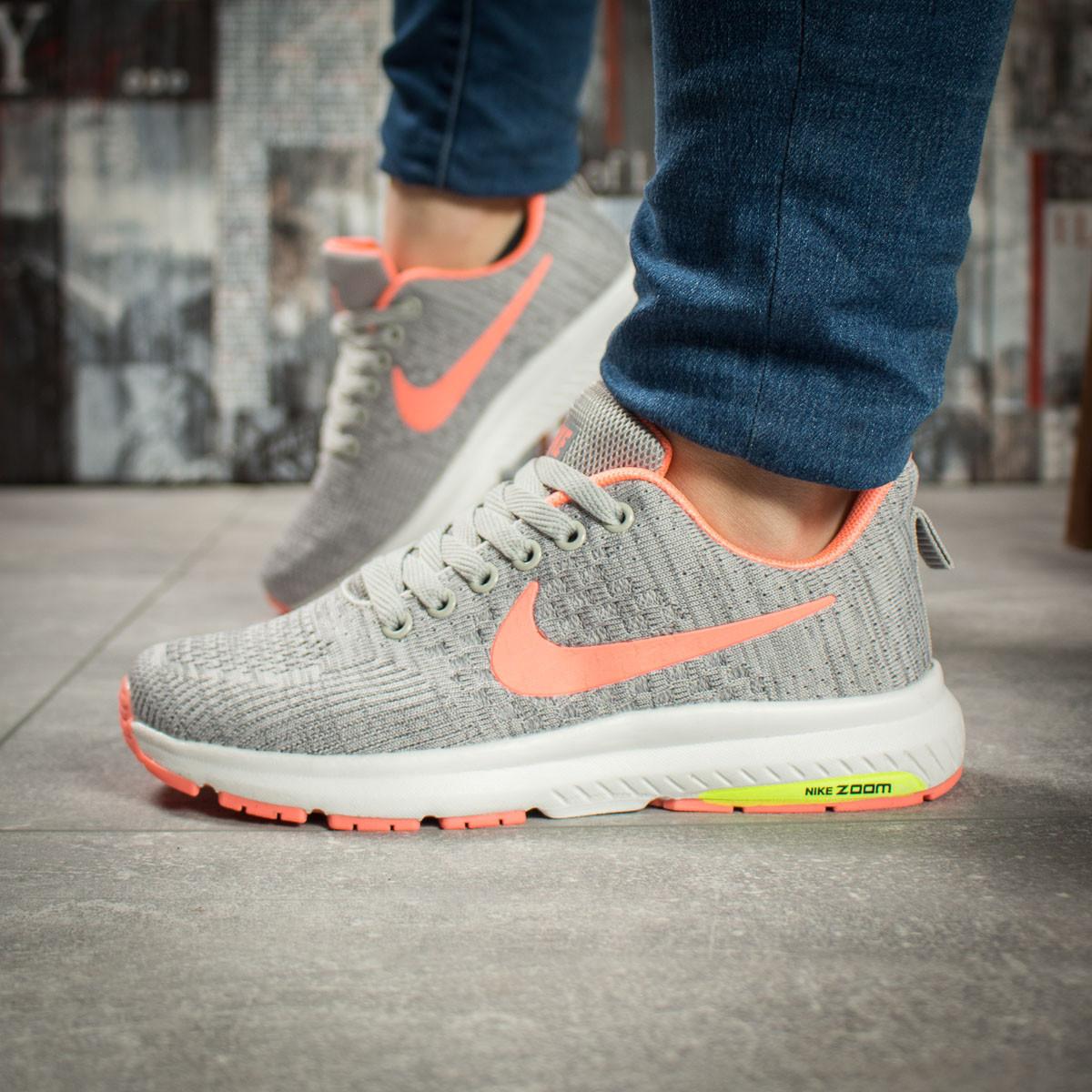 Кроссовки женские Nike Zoom Pegasus, серые 16003